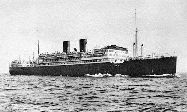 The Campana as built by Swan Hunter in 1929