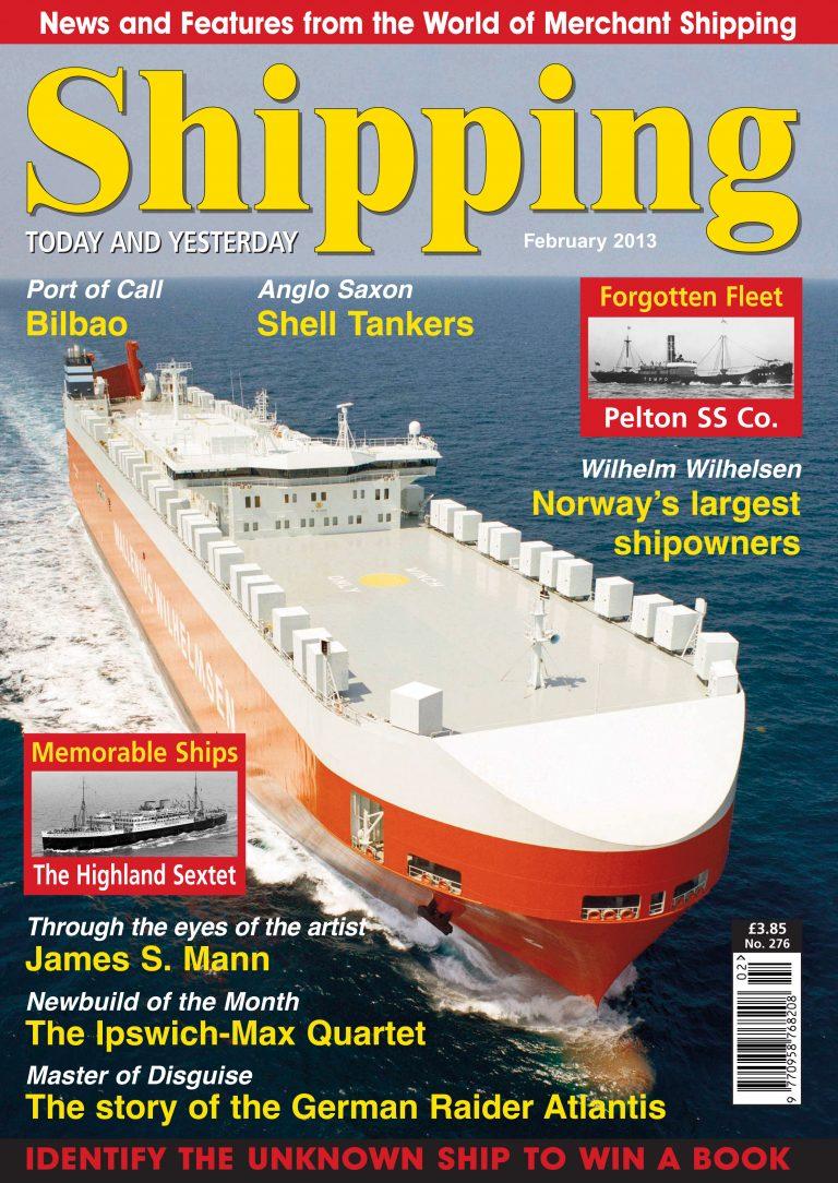 Shell Shipping Fleet