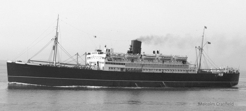 The Circassia passing Portishead on 21st September 1965.