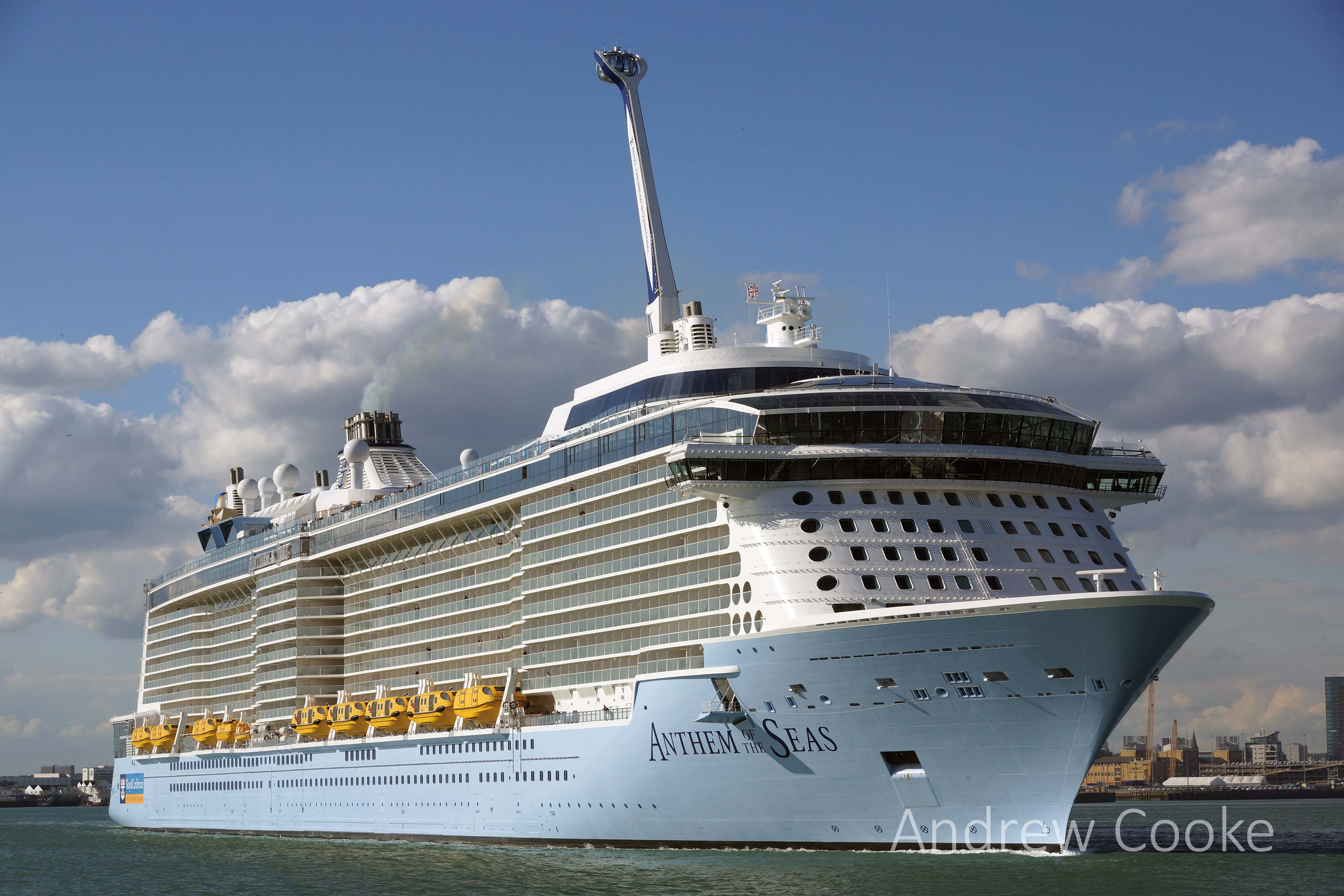 Anthem Of The Seas - Shipping Today & Yesterday Magazine Oasis Of The Seas Comparison