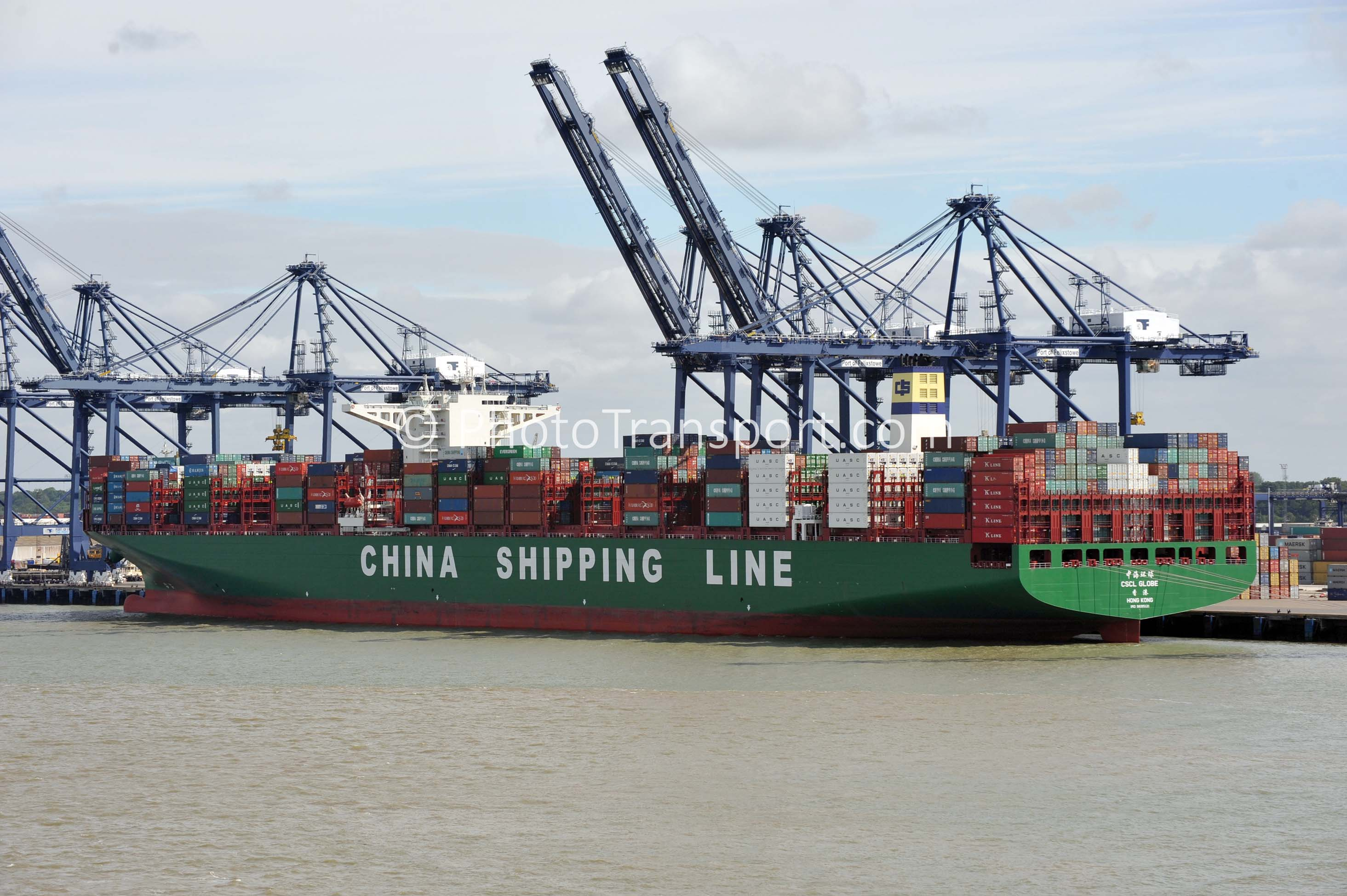 Photo Gallery Of Today - Giant Container Ships At ...