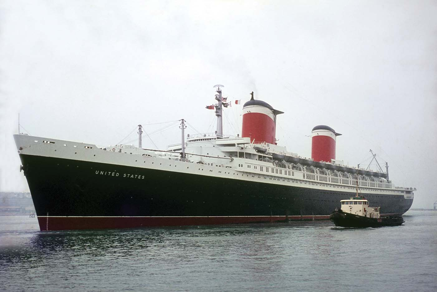 Cruises From Southampton >> U-Turn for the Big U - Shipping Today & Yesterday Magazine