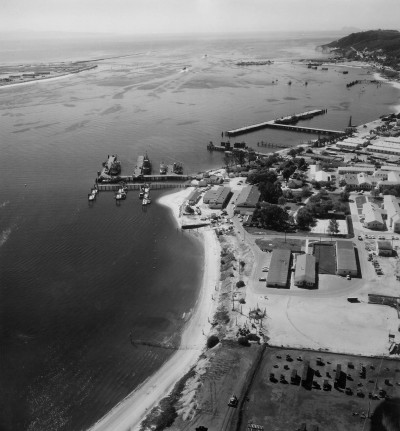 The port of San Diego on 14th March 1959.