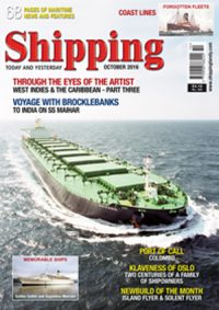 Shipping T&Y October 2016